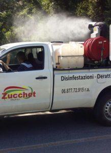 Disinfestazione Roma: lavori in corso