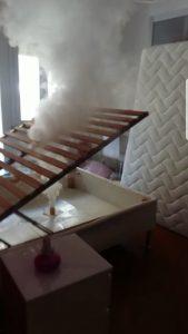 Disinfestazione Roma: camera da letto