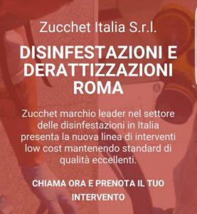 disinfestazione Roma - Zucchet Italia